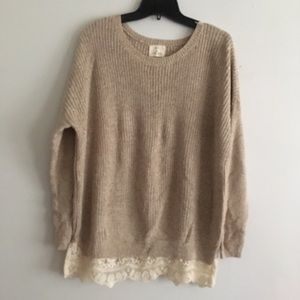 Pins and Needles Urban Outfitters sweater lace